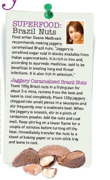 Deena Kakaya in Cook Vegetarian Magazine Superfood