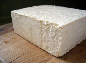 A block of Tofu